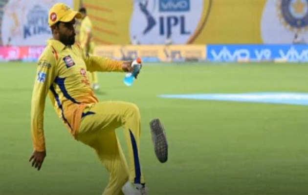 कावेरी मुद्दा: स्टेडियम में CSK के खिलाड़ी पर फेंका गया जूता