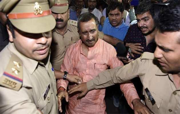 उन्नाव रेप केस: बीजेपी विधायक कुलदीप सिंह सेंगर हिरासत में