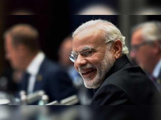 வெளிநாடு கிளம்பிவிட்டார் பிரதமர் மோடி!!