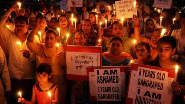 kathua and unnao rapes protests erupt across country after