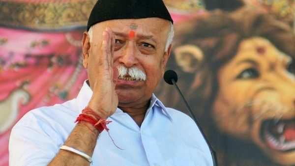 rss chief stokes ram mandir debate again hits out at conversion mafia