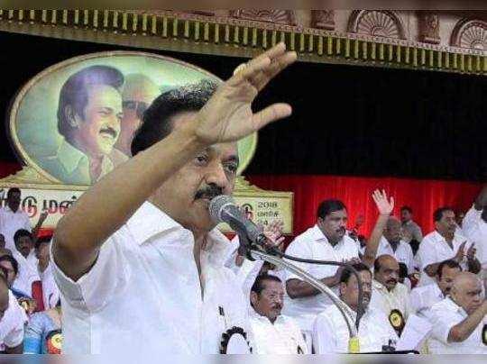 Erode: DMK working President MK Stalin