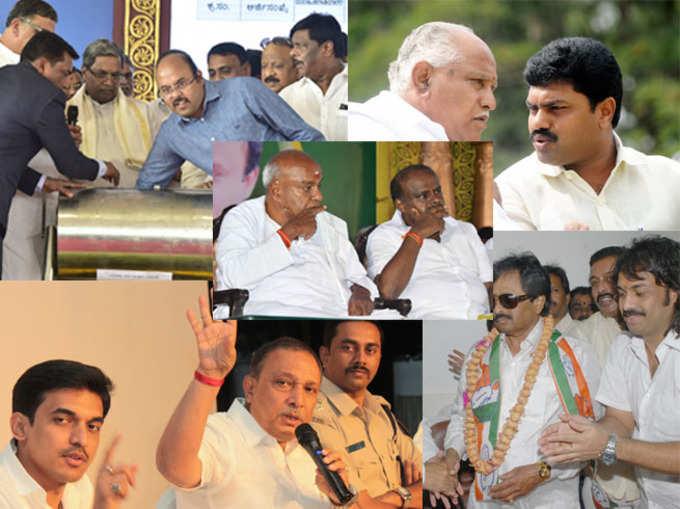 कर्नाटक विधानसभा चुनाव: देखें, किन परिवारों को विरासत में मिली सियासत