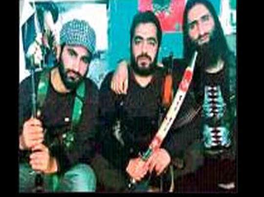 आतंकवादी मन्नान वानी की वायरल तस्वीर