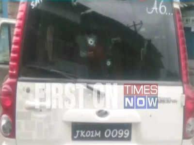 पुलवामामें पीडीपी नेता पर आतंकवादियों ने किया हमला