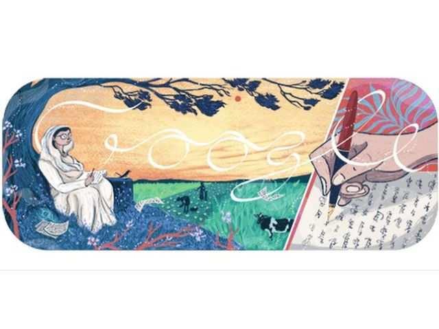 गूगल डूडल: महान कवयित्री महादेवी वर्मा  को किया जा रहा है याद, जानें क्या है खास