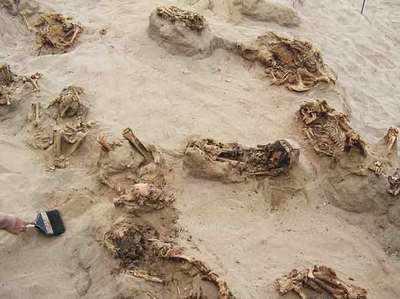 पेरू में मिले दर्जनों मानव अवशेष (फाइल फोटो)
