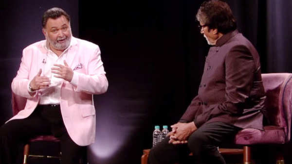 rishi kapoor tells how he met amitabh bachchan