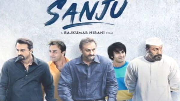 ranbir kapoor looks every bit like sanjay dutt in sanju poster