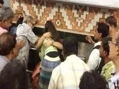 couple beaten for hugging in kolkata metro
