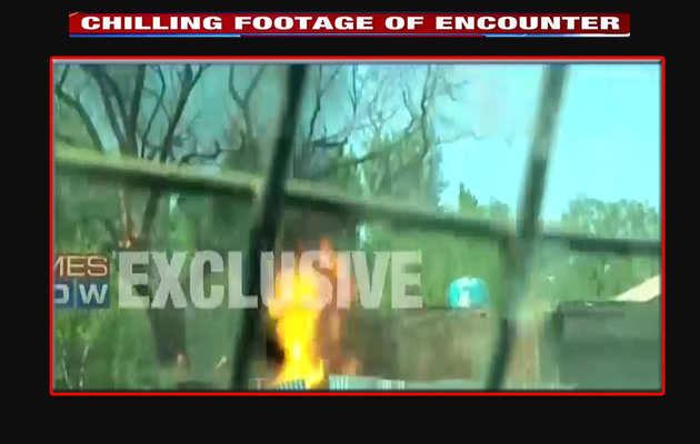 Exclusive: एनकाउंटर में हिजबुल के 'टाइगर' के खात्मे का विडियो आया सामने