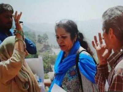 मृत अधिकारी शैल बाला शर्मा