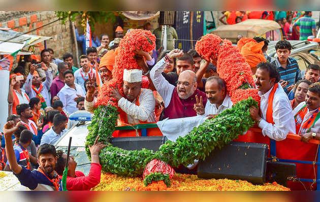 कर्नाटक विधानसभा चुनाव: प्रचार के आखिरी दिन बीजेपी ने दिखाया दम
