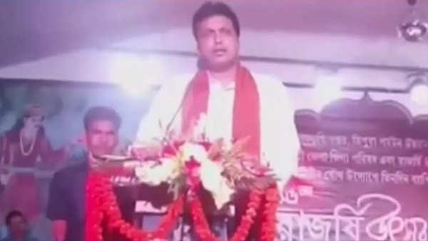 tagore returned nobel prize to protest against british rule says tripura cm