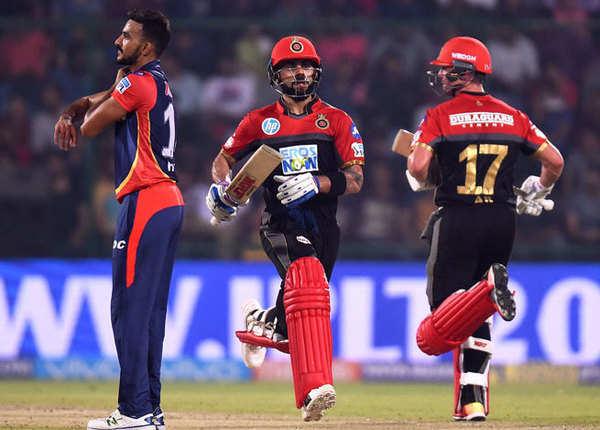 बैंगलोर टीम ने 5 विकेट से जीता मैच