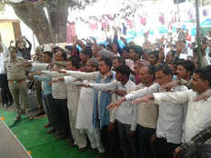uttar pradesh more than fifty notorious criminals takes oath not to do crime again