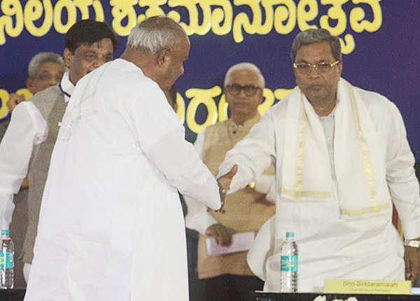 2005 में सिद्धा ने छोड़ा दिया था देवगौड़ा का साथ