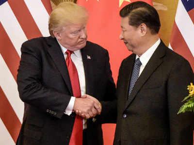 चीनी राष्ट्रपति शी चिनफिंग के साथ अमेरिकी प्रेजिडेंट डॉनल्ड ट्रंप (फाइल फोटो)