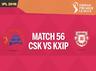 ipl 2018 live blog updates chennai super kings vs kings xi punjab at pune mca stadium match 56
