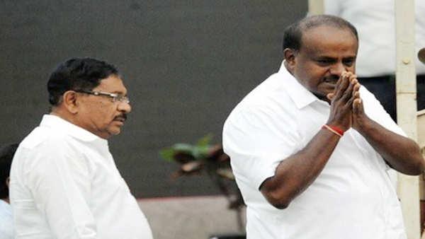 no call to back kumaraswamy as karnataka cm for 5 years congress