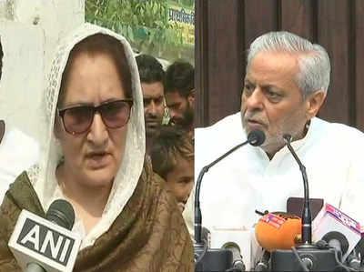 आरएलडी उम्मीदवार तबस्सुम हसन और एसपी के राजेंद्र चौधरी ने लगाए आरोप