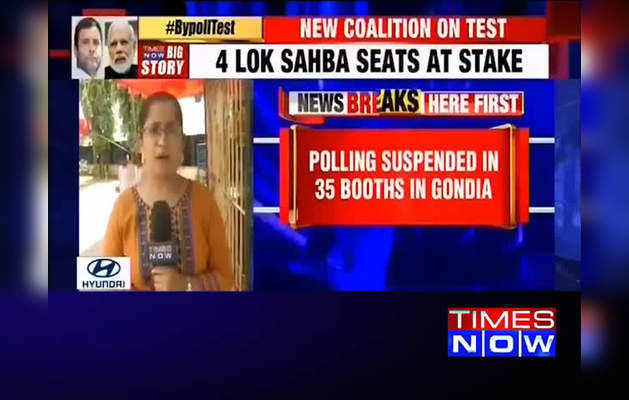 Maharashtra: Polling suspended in 35 booths in Gondia, EVM malfunction hits polling