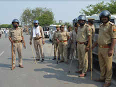 youth drown in saryu river angry mob protest and jam highway