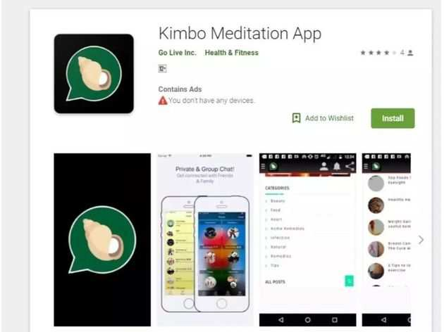 Kimbho Meditation App