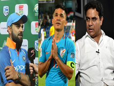 virat kohli and ktr comes out in support of sunil chhetri