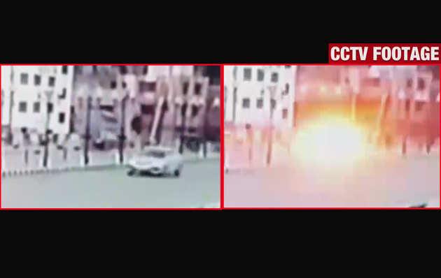 विडियो: श्रीनगर में सीआरपीएफ के काफिले पर ग्रेनेड हमला, 1 जवान घायल
