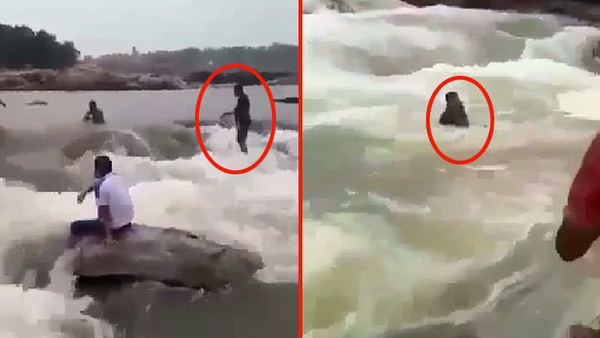caught on cam scientist drowns during picnip trip with family