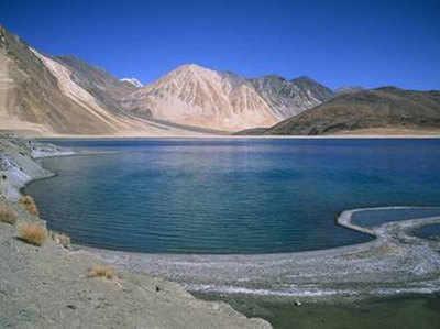 लद्दाख में हैं खूबसूरत झीलें