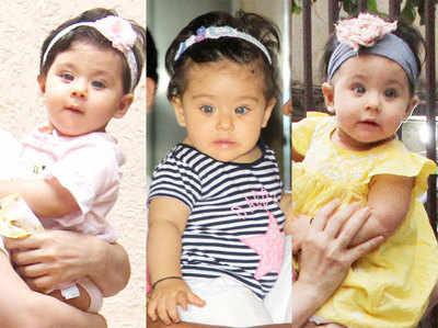 inaaya khemu's first birthday cute pictures Inaya-intro