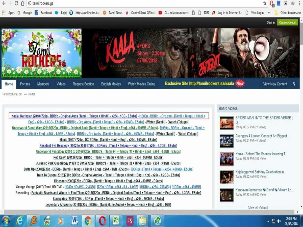 kaala tamilrockers: Kaala Movie Download: தமிழ்