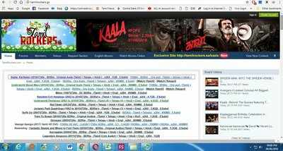 kaala tamilrockers: Kaala Movie Download: தமிழ்