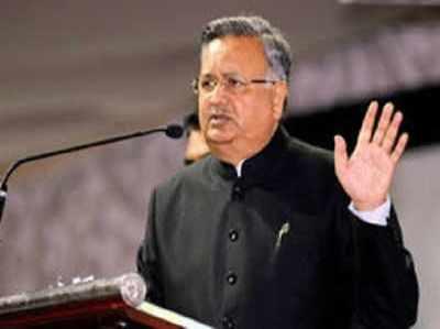 फाइल फोटो: छत्तीसगढ़ के मुख्यमंत्री रमन सिंह