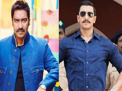 Ajay Devgn Movie Actor Ajay Devgn In Rohit Shettys Simmba Starring