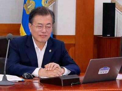 दक्षिण कोरिया के राष्ट्रपति मून जेई-इन