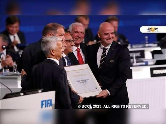 FIFA কংগ্রেসে তিন দেশের প্রতিনিধিরা