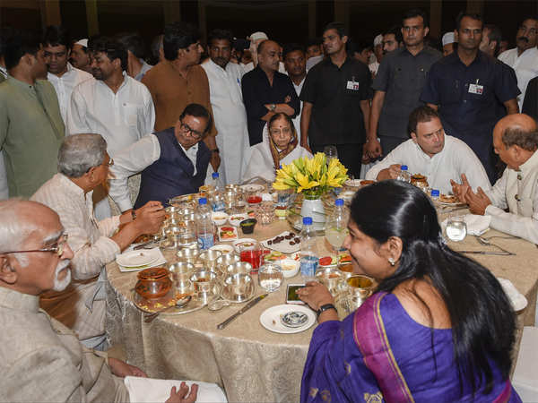 bizarre ridiculous rahul gandhi mocks pms fitness video during iftar party