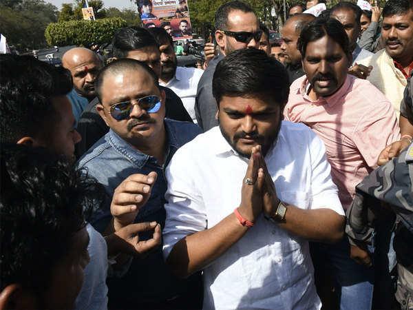 paas leader hardik patel claims next cm of gujarat will be from kshatriya or patidar community