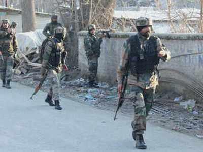 सीआरपीएफ और राज्य पुलिस पर आतंकी हमला