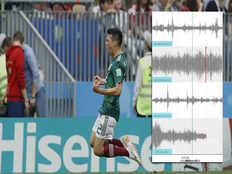 world cup goal celebrations trigger earthquake in mexico city