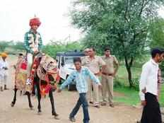 gujarat dalit groom forced to get down from horse by upper caste community