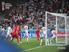 fifa world cup 2018 harry kane powers england to 2 1 win over tunisia