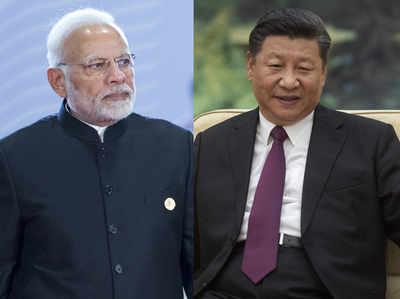 पीएम मोदी और चीन के राष्ट्रपति शी चिनफिंग (फाइल)