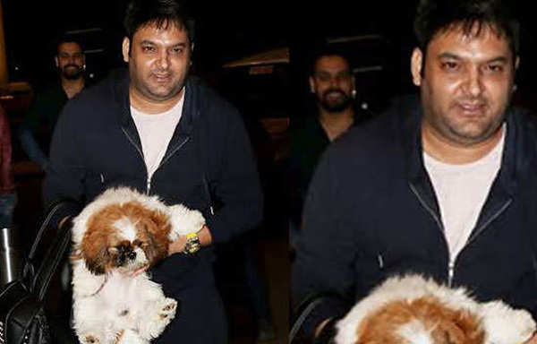 kapil sharma looking chubby spotted at airport