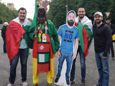 fifa world cup 2018 friends taking their buddy to watch the match in a bizarre way