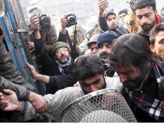 जम्मू-काश्मीर: यासीन मलिकला अटक