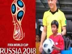 nathania john makes history as first indian ball girl at fifa world cup